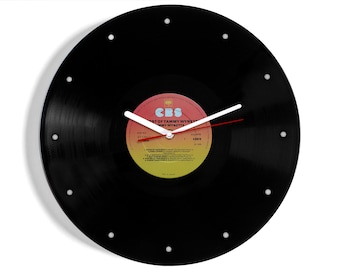 "Tammy Wynette ""The Best Of"" Vinyl Record Wall Clock"