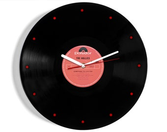 """The Hollies """"Something To Live For"""" Vinyl Record Wall Clock"""