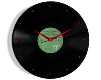 """Mike Oldfield """"The Orchestral Tubular Bells"""" Vinyl Record Wall Clock"""