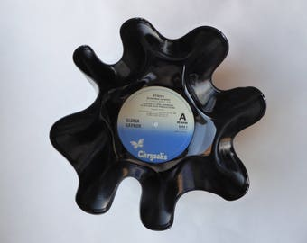 "Gloria Gaynor ""Strive"" Vinyl Record Bowl"