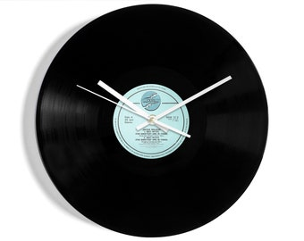 "Jackie Wilson ""Reet Petite (The Sweetest Girl In Town)"" Vinyl Record Wall Clock"