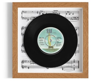 "Hot Chocolate ""It Started With A Kiss"" Framed 7"" Vinyl Record"