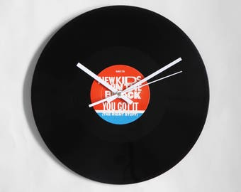 "New Kids On The Block ""You Got It"" Vinyl Record Wall Clock"