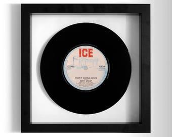 "Eddy Grant ""I Don't Wanna Dance"" Framed 7"" Vinyl Record"