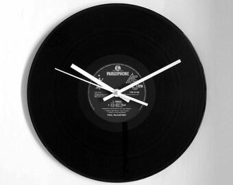 """Paul McCartney """"Press"""" Vinyl Record Wall Clock"""