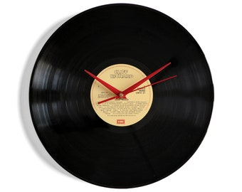 "Cliff Richard ""Love Songs"" Vinyl Record Wall Clock"