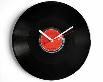 "Chris De Burgh ""Lady In Red"" Vinyl Record Wall Clock"