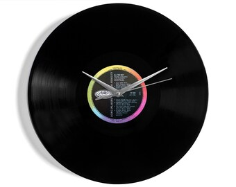 "Frank Sinatra ""All The Way"" Vinyl Record Wall Clock"