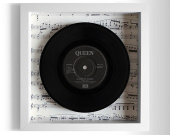 "Queen ""A Kind Of Magic"" Framed 7"" Vinyl Record"