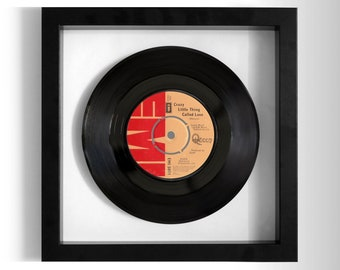 "Queen ""Crazy Little Thing Called Love"" Framed 7"" Vinyl Record"