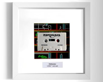 Obliterator Framed ZX Spectrum Game
