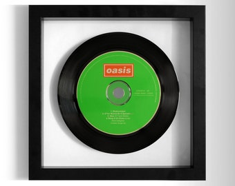 "Oasis ""Shakermaker"" Framed CD"