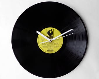 "Cilla Black ""Step Inside Love"" Vinyl Record Wall Clock"