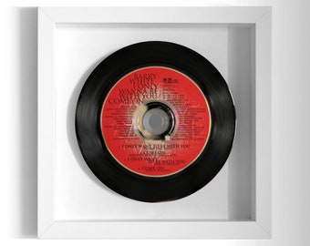 """Barry White """"I Only Want To Be With You"""" Framed CD"""