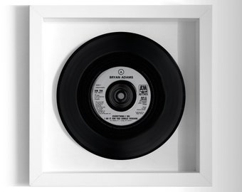 "Bryan Adams ""(Everything I Do) I Do It For You"" Framed 7"" Vinyl Record"