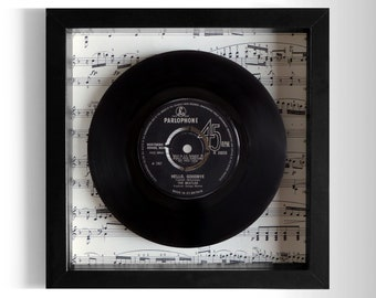"The Beatles ""Hello, Goodbye"" Framed 7"" Vinyl Record"