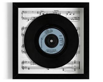 """Shakin' Stevens """"This Ole House"""" Framed 7"""" Vinyl Record"""