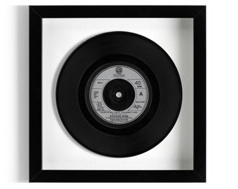"Status Quo ""Something 'Bout You Baby I Like"" Framed 7"" Vinyl Record"