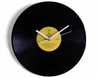 """ABBA """"Greatest Hits"""" Vinyl Record Wall Clock"""