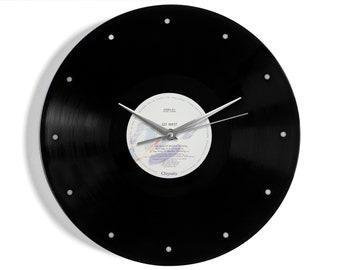 "Go West ""King Of Wishful Thinking"" Vinyl Record Wall Clock"