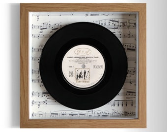 "Eurythmics ""Sweet Dreams"" Framed 7"" Vinyl Record"