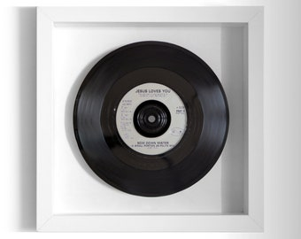 "Jesus Loves You ""Bow Down Mister"" Framed 7"" Vinyl Record"