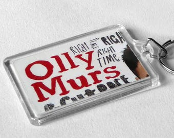 Olly Murs Keyring from CD Booklet