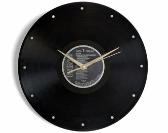 "Rick Astley ""Whenever You Need Somebody"" Vinyl Record Wall Clock"