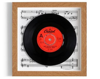 """Dr Hook """"When You're In Love With A Beautiful Women"""" Framed 7"""" Vinyl Record"""