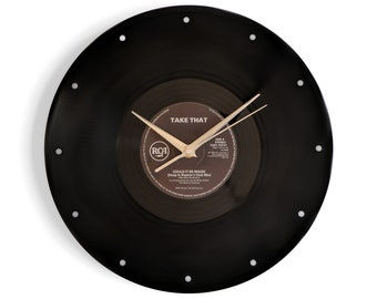"Take That ""Could It Be Magic"" Vinyl Record Wall Clock"