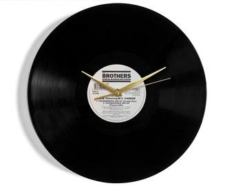 Thunderbirds Vinyl Record Wall Clock