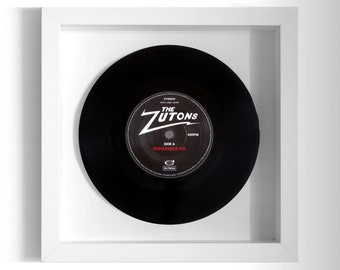 "The Zutons ""Remember Me"" Framed 7"" Vinyl Record"