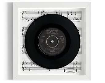 """Bucks Fizz """"If You Can't Stand The Heat"""" Framed 7"""" Vinyl Record"""
