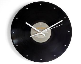"Eurythmics ""1984"" Vinyl Record Wall Clock"