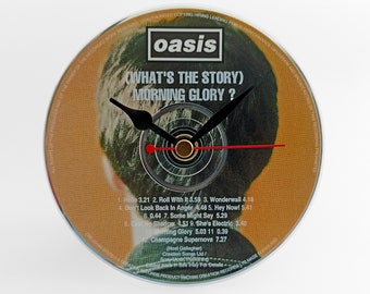 "Oasis ""(What's The Story) Morning Glory ?"" CD Clock and Keyring"