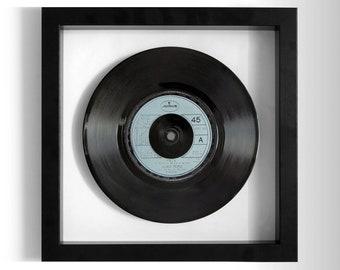 """Village People """"YMCA"""" Framed 7"""" Vinyl Record"""