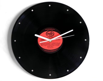 "Buddy Holly ""20 Love Songs"" Vinyl Record Wall Clock"