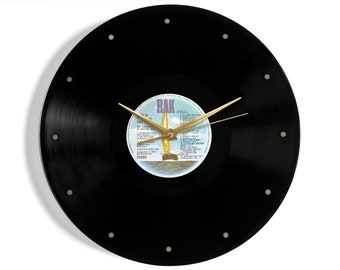 "Hot Chocolate ""20 Hottest Hits"" Vinyl Record Wall Clock"