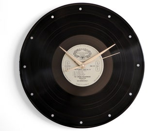 "Holst ""The Planets"" Vinyl Record Wall Clock"
