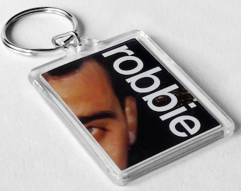 Robbie Williams Keyring from CD Booklet