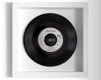 "Kim Wilde ""You Came"" Framed 7"" Vinyl Record"