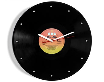 The War Of The Worlds Vinyl Record Wall Clock