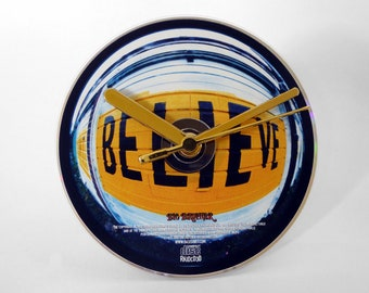 """Oasis """"Don't Believe The Truth"""" CD Clock and Keyring Gift Set"""