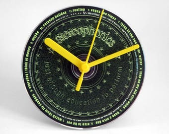 """Stereophonics """"Just Enough Education To Perform"""" CD Clock and Keyring Gift Set"""