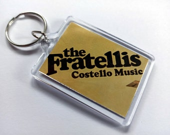 The Fratellis Keyring from CD Booklet