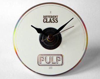 """Pulp """"Different Class"""" CD Clock and Keyring Gift Set"""