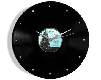 """Chicago """"You're The Inspiration"""" Vinyl Record Wall Clock"""