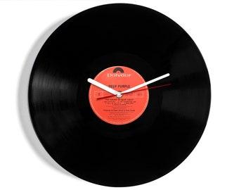 "Deep Purple ""The House Of Blue Light"" Vinyl Record Wall Clock"