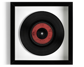"""The Who """"Who Are You"""" Framed 7"""" Vinyl Record"""
