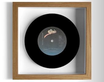 "Michael Jackson ""Off the Wall"" Framed 7"" Vinyl Record"